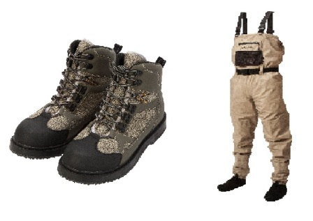 Daiwa Lightweight Breathable Waders + Boots